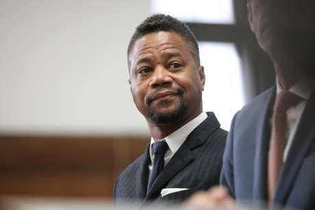Ator Cuba Gooding Jr. em tribunal em Nova York 10/10/2019 Alec Tabak/Pool via REUTERS
