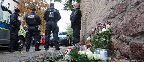 Segurança foi reforçada em sinagoga que era alvo do terrorista em Halle