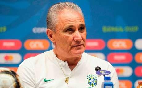 O treinador Tite foi o comandante do Brasil na Copa do Mundo 2018, na Rússia (Foto: Diego Maranhao/AM Press)