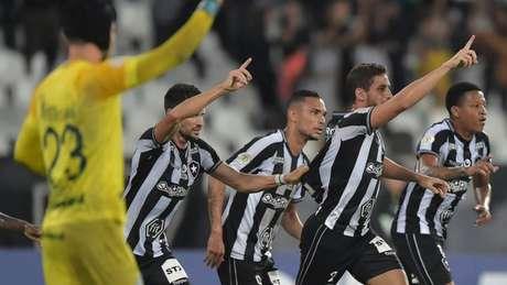 Botafogo voltou a pontuar no Brasileirão (Foto: Vitor Silva/Botafogo)