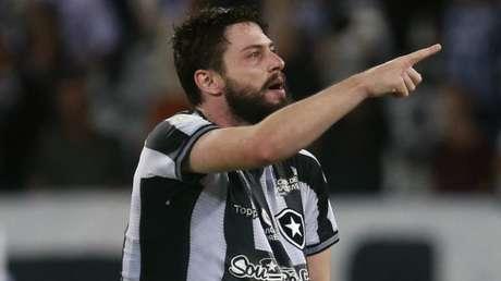 João Paulo marcou o segundo gol do Botafogo (Vítor Silva/Botafogo)