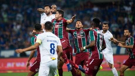 Não conseguir a vitória abalou muito o time cruzeirense após o duelo com o Fluminense- (Bruno Haddad/Cruzeiro)