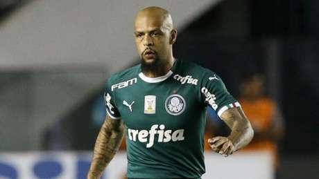 Felipe Melo também foi provocado durante a partida (Cesar Greco/Palmeiras)