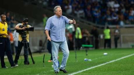 Abel Braga diz que veio sabendo o que iria encontrar no Cruzeiro e confia na reação da equipe- (Bruno Haddad/Cruzeiro)