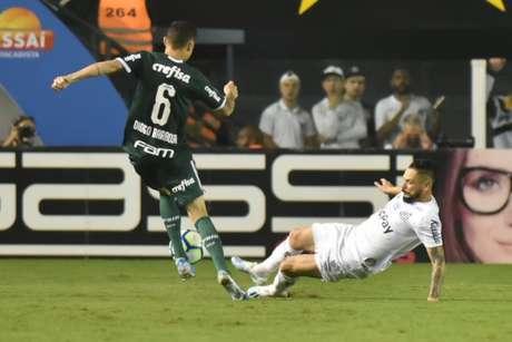 Pará foi importante na defesa na vitória do Santos contra o Palmeiras (Ivan Storti/Santos)