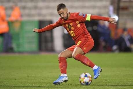 Bélgica não teve dificuldades para golear San Marino (Foto: YORICK JANSENS/BELGA/AFP)