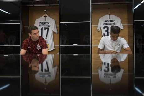 Pedrinho também não poderá ajudar Boselli e o Corinthians contra o São Paulo (Foto: © Daniel Augusto Jr. / Ag. Corinthians)