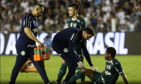 O departamento médico do Palmeiras confirmou a lesão de Luiz Adriano (Foto: Cesar Greco/Palmeiras)