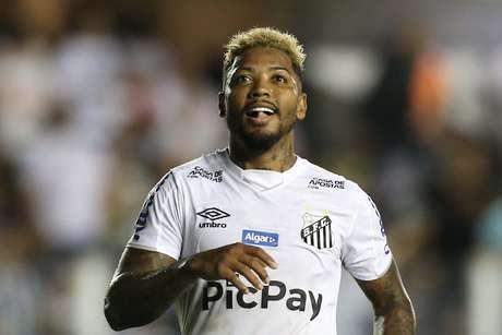 Marinho, atacante do Santos