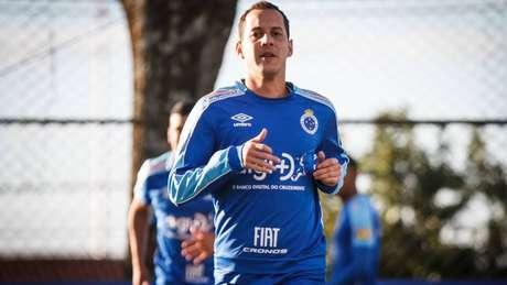 Jogador não atua desde maio (Foto: Vinnicius Silva/Cruzeiro)
