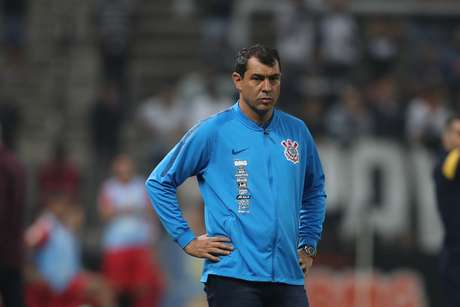 Técnico Fabio Carille, do Corinthians