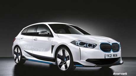 Imagem do BMW i1 divulgado pelo site inglês Car Buyer