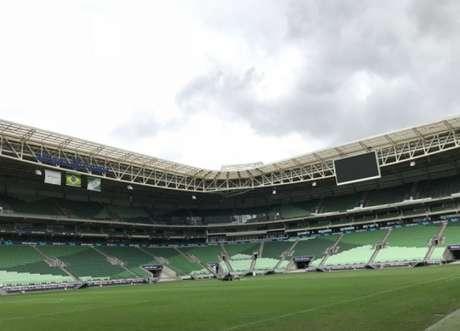 Palmeiras vai a Holanda buscar opções para a troca de gramado do Allianz Parque (Foto: Divulgação)