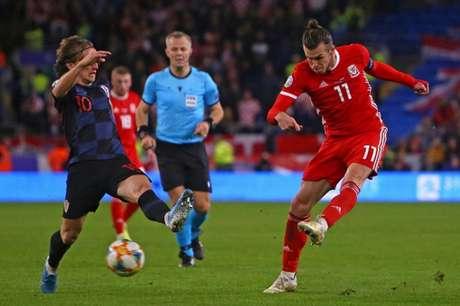 Modric e Bale, duas estrelas da partida (Foto: AFP)