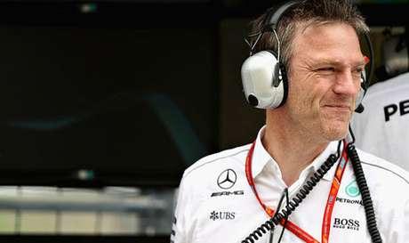 James Allison: diretor técnico da Mercedes nas últimas três temporadas.