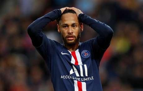 Neymar em jogo do Paris Saint Germain