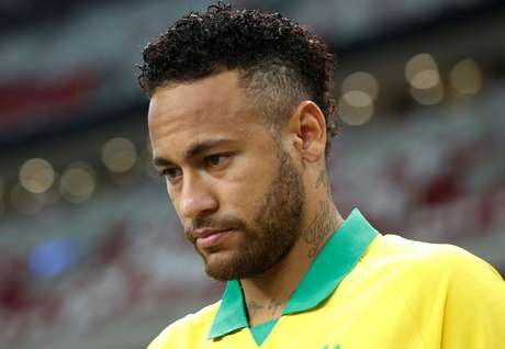 Neymar durante amistoso da seleção brasileira contra Senegal, em Cingapura 10/10/2019 REUTERS/Feline Lim