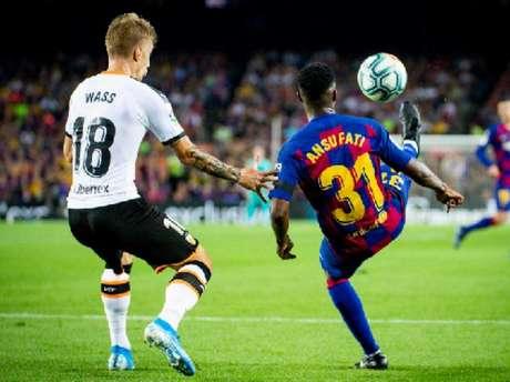 Ansu Fati tem contrato com o Barcelona até a 2022 (Foto: Reprodução)