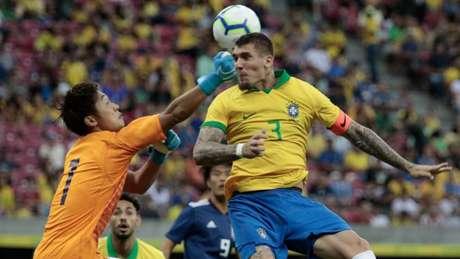 Lyanco foi titular contra o Japão nesta segunda (Rafael Melo/MyPhoto Press/Lancepress!)