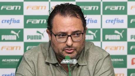Alexandre Mattos foi à Justiça para cobrar explicações da Mancha sobre acusações (Agência Palmeiras/Divulgação)