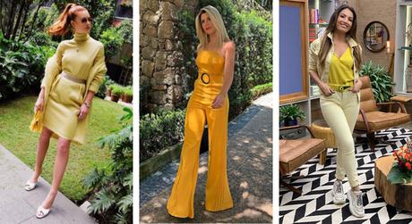 Famosas vestem amarelo (Fotos: Instagram/Reprodução)
