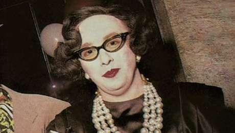 Patricio Bisso como Olga del Volga: humor debochado que desafiou a censura