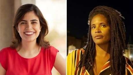 A deputada Tábata Amaral e a filósofa Djamila Ribeiro são as representantes brasileiras na edição de 2019 do 100 Mulheres