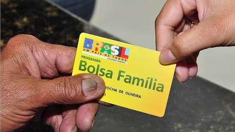 Cartão do benefício Bolsa Família