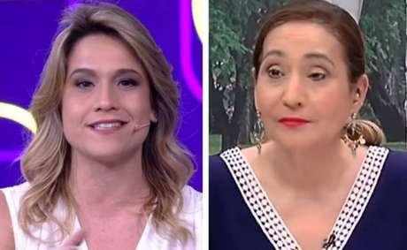 Fernanda Gentil e Sonia Abrão