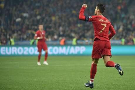 Cristiano Ronaldo é o maior artilheiro de Portugal, Real Madrid e da Liga dos Campeões (Foto: AFP)