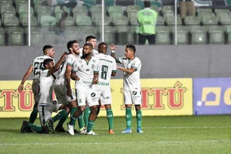 Foi a quinta vitória seguida do Coelho dentro do Independência, mostrando a força de jogar em seu campo- (Mourão Panda/América-MG)