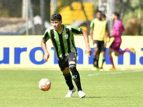 O América-MG começou bem o Brasileiro sub-20, mas não conseguiu manter  a performance para conseguir a classificação à outra fase-(Mourão Panda/América-MG)