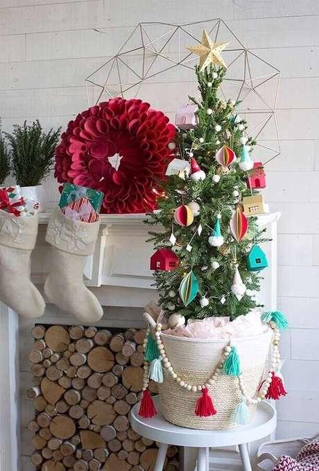 33. Faça seus próprios enfeites para árvore de Natal artesanal – Foto: Pinterest