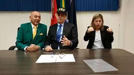 Luciano Hang, dono da Havan, é apoiador do presidente Jair Bolsonaro