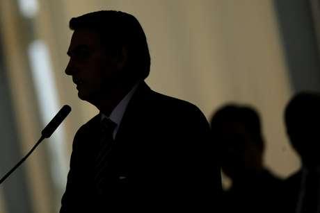 Presidente Jair Bolsonaro durante cerimônia no Palácio do Planalto em Brasília 15/10/2019 REUTERS/Adriano Machado