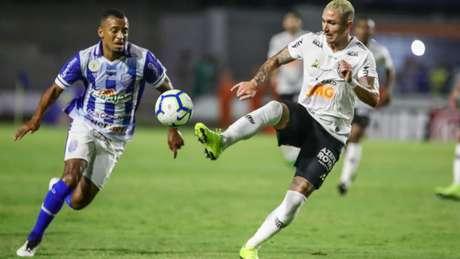 A partida do Galo foi abaixo do esperado, pela fragilidade do CSA, o que preocupa para as próximas rodadas do Brasileiro-(Bruno Cantini / Atlético)