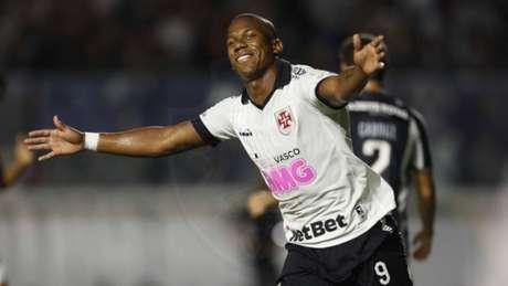 Ribamar comemora o gol que marcou nessa noite em São Januário (Rafael Ribeiro/Vasco)