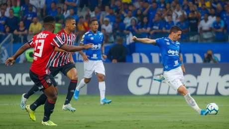 Thiago Neves marcou o gol da vitória cruzeirense nesta quarta - FOTO: Vinnicius Silva/Cruzeiro