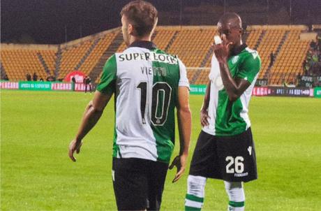 Sporting caiu para time da terceira divisão portuguesa (Foto: Divulgação/Sporting)