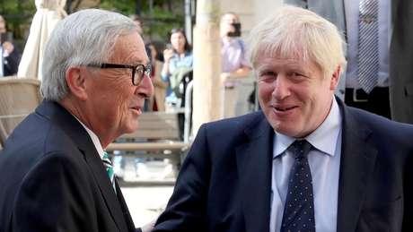Boris Johnson se mostrou muito satisfeito com o acordo fechado com a União Europeia