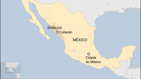 Mapa de Culiacán