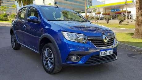 Renault Sandero: desconto na versão Life 1.0 pode ser de R$ 6.500. Na foto, a versão Intense 1.6.