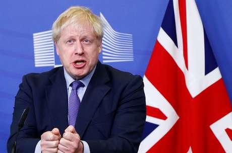 Premiê britânico, Boris Johnson 17/10/2019 REUTERS/Francois Lenoir