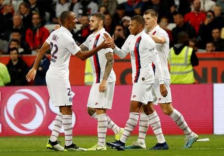 PSG vence o Nice no Francês.