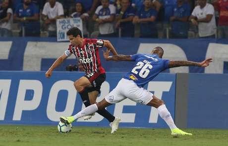 São Paulo foi inoperante no Mineirão e foi derrotado por 1 a 0 pelo Cruzeiro (Foto: Rubens Chiri/São Paulo)