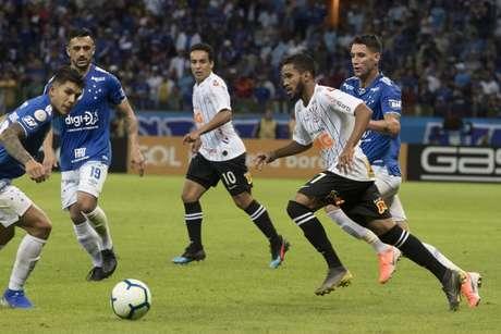 No primeiro turno, no Mineirão, o Corinthians ficou no empate sem gols com o Cruzeiro (Foto: Daniel Augusto Jr/Ag. Corinthians)