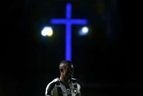 Marcelo na partida contra o Vasco (Foto: Vítor Silva/Botafogo)