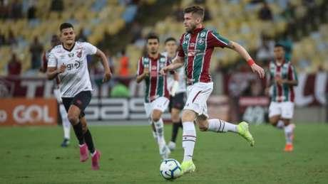 Caio Henrique teve uma boa atuação na partida (Lucas Merçon/Fluminense)