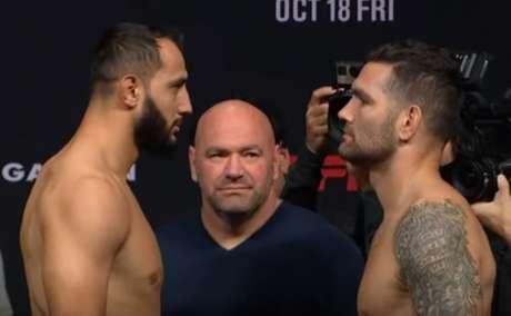 Dominick é visto como favorito para o duelo contra Weidman na luta principal do UFC Boston (Foto: Reprodução/UFC)