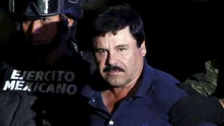 El Chapo foi extraditado para os EUA em 2017